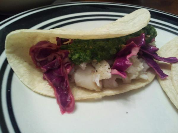 tilapia fish tacos