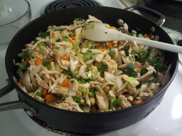 enchiladas cooking process